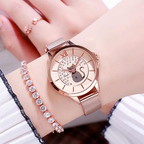 diamond waterproof quartz watch NHSR297419's discount tags