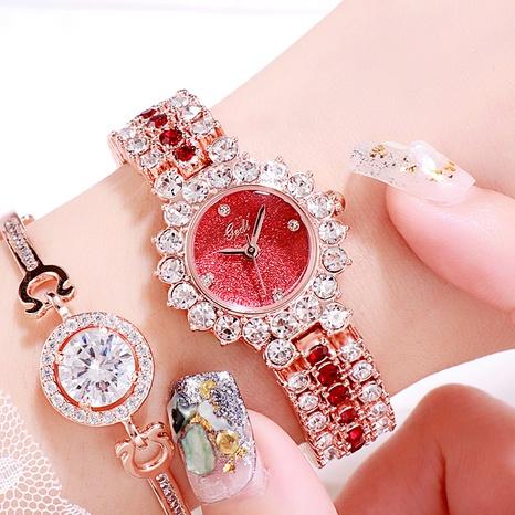 diamond-encrusted quartz watch NHSR297421's discount tags