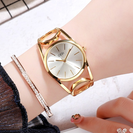 alloy large dial waterproof quartz watch  NHSR297427's discount tags
