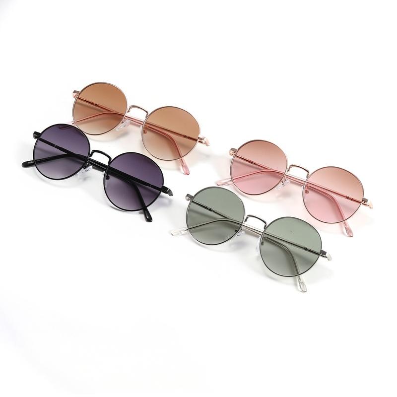 Round Frame Metal Beach New Sunglasses NHXU297440