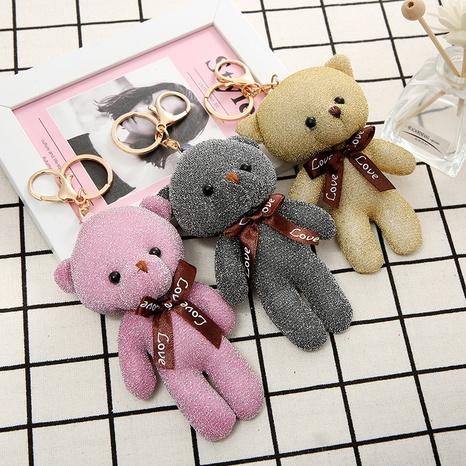 porte-clés poupée ours mignon NHAE297534's discount tags