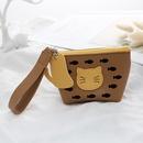 cute cartoon cat zipper wallet NHAE297562
