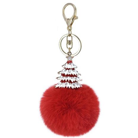 Nuevo llavero de aleación de árbol de Navidad NHAP297578's discount tags