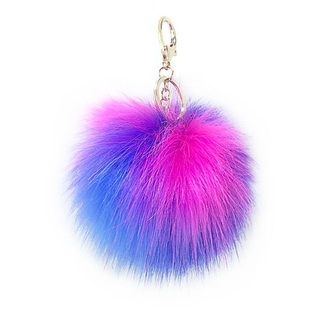 new color fur ball keychain  NHAP297592's discount tags