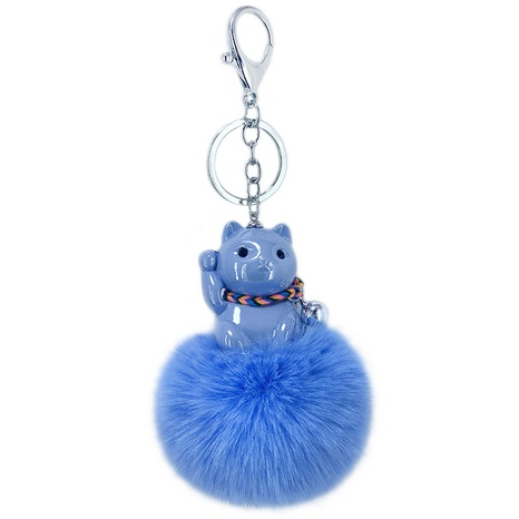 new cute acrylic lucky cat keychain NHAP297599's discount tags