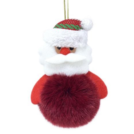 New Christmas hair ball pendants imitation artificial wool keychain NHAP297609's discount tags
