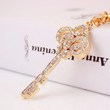 Rhinestone Key Shape Keychain NHAK297633's discount tags