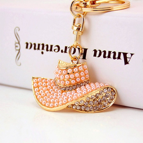 Pearl Hat Keychain  NHAK297638's discount tags