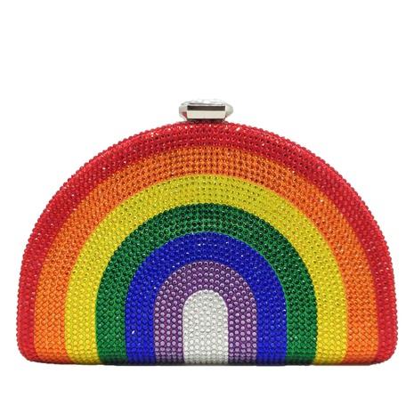 diamond rainbow banquet bag NHJU297649's discount tags