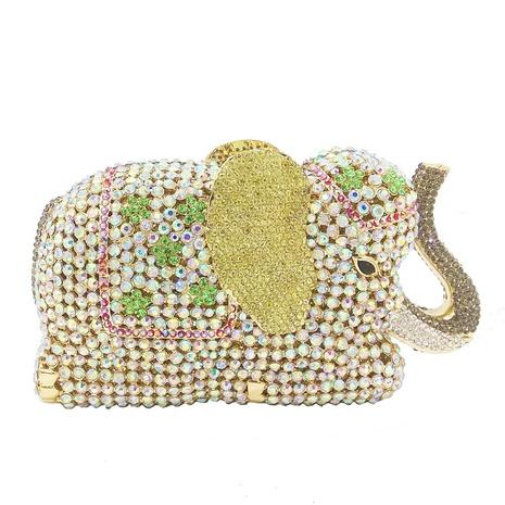 metal elephant banquet bag NHJU297657's discount tags