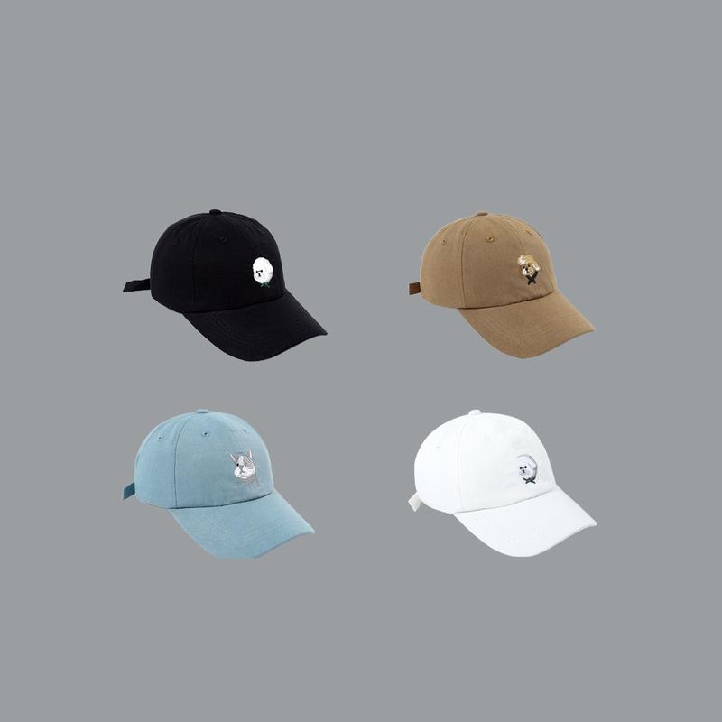 gorra de bisbol bordada coreana salvaje nuevo sombrero para el sol NHTQ242413