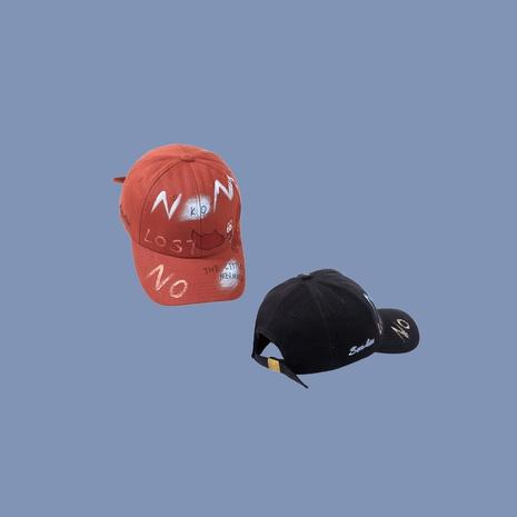 Sombrero de graffiti pintado a mano nueva gorra de béisbol para mujer. NHTQ242402's discount tags