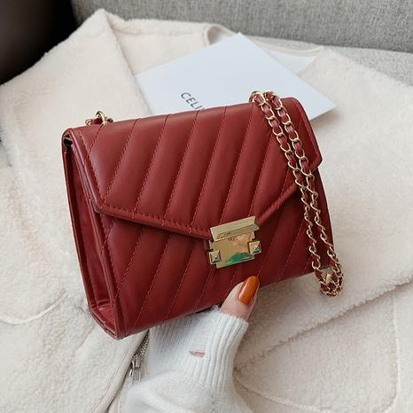 Modekette lässige kleine quadratische Tasche mit einer Schulter NHRU297878's discount tags