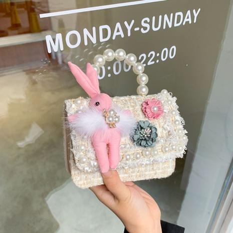 Wollperlenhandtasche für Kinder NHTG297963's discount tags