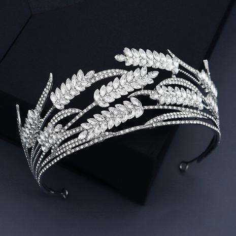 Korean headdress wheat ear rhinestone bridal crown wedding dress accessories  NHHS297985's discount tags