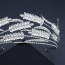 Korean headdress wheat ear rhinestone bridal crown wedding dress accessories  NHHS297985