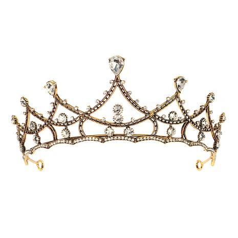 Bridal wedding headdress baroque retro alloy crown hair accessories NHHS297990's discount tags