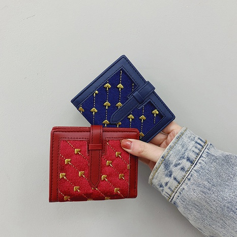 multifunctional embroidered wallet  NHTG298010's discount tags