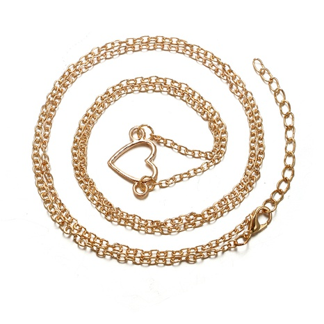new simple heart-shaped love waist chain NHGY298291's discount tags