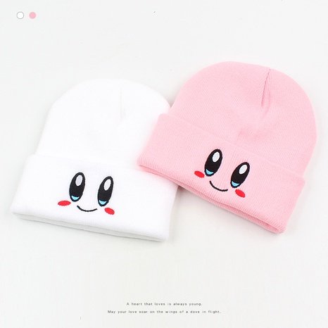 Fashion Embroidered Eye Knitted Hat NHXO290300's discount tags