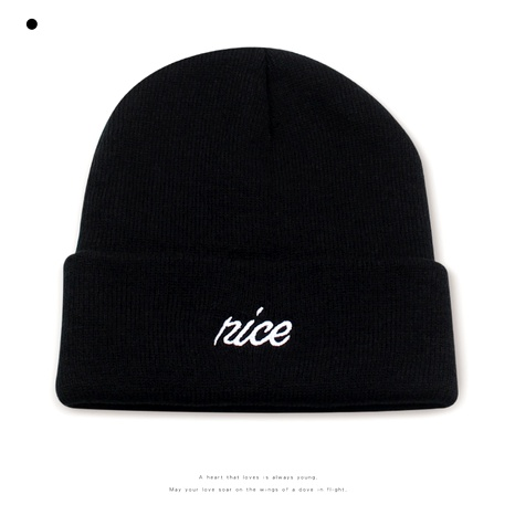 fashion embroidery letters wool hat  NHXO290295's discount tags