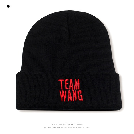 fashion hip-hop black knitted hats NHXO290298's discount tags