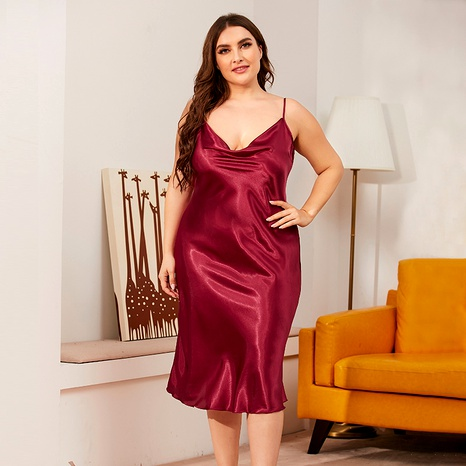 plus size sling nightdress  NHJO290311's discount tags