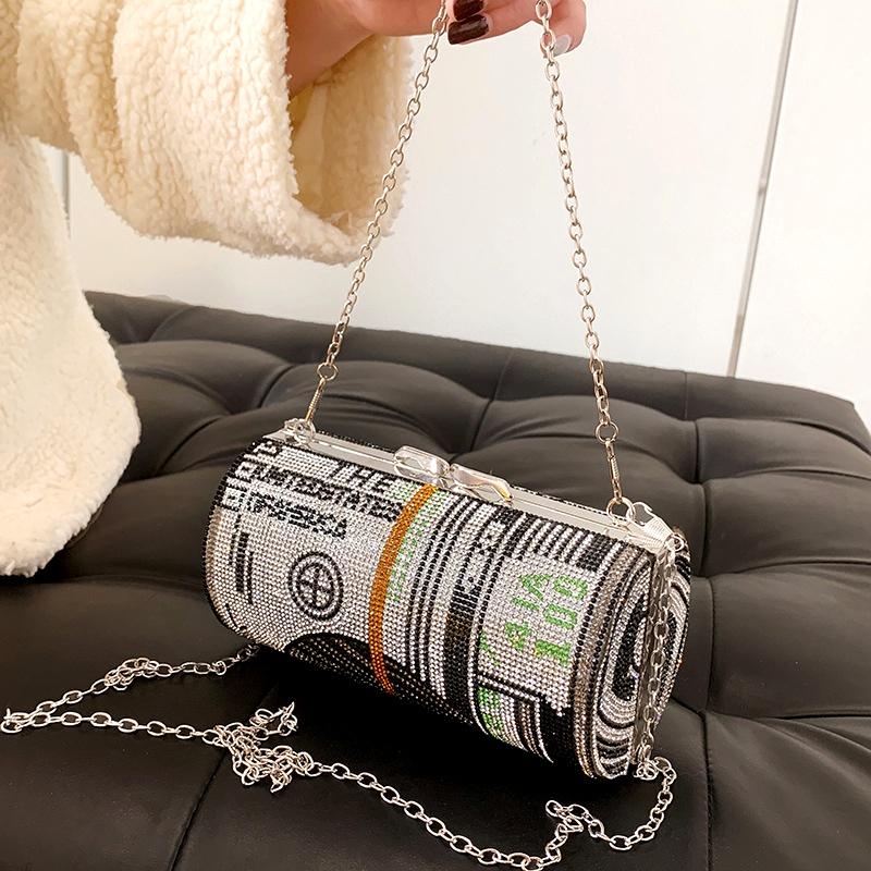 fashion cylinder shoulder messenger bag NHLH290469