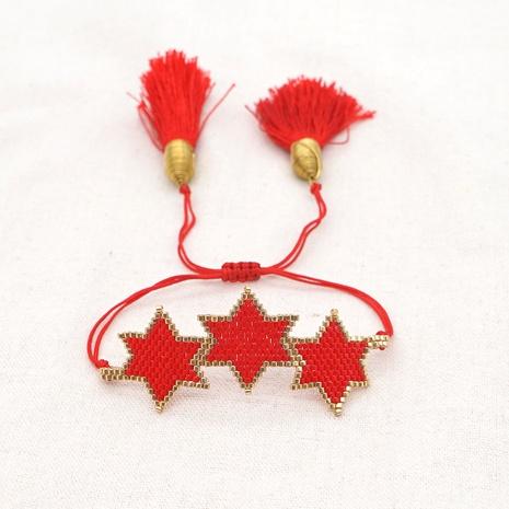 creative Miyuki rice bead bracelet  NHGW298083's discount tags