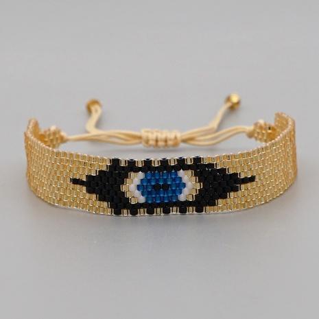 retro ethnic Turkish blue eyes wide bracelet  NHGW298121's discount tags