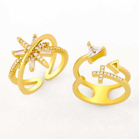 triangle open ring  NHAS298191's discount tags