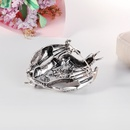 Retro dragon alloy brooch NHDR298261