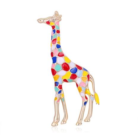 alloy giraffe cute brooch NHDR298288's discount tags