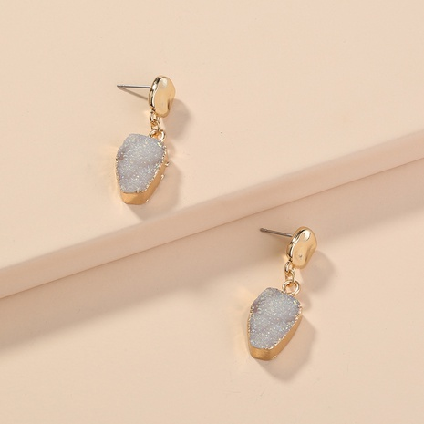 imitation natural stone earrings  NHAN298326's discount tags