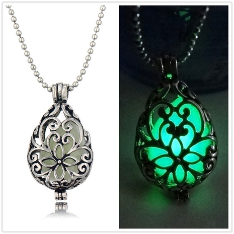 luminous cage pendant necklace NHAN298342's discount tags