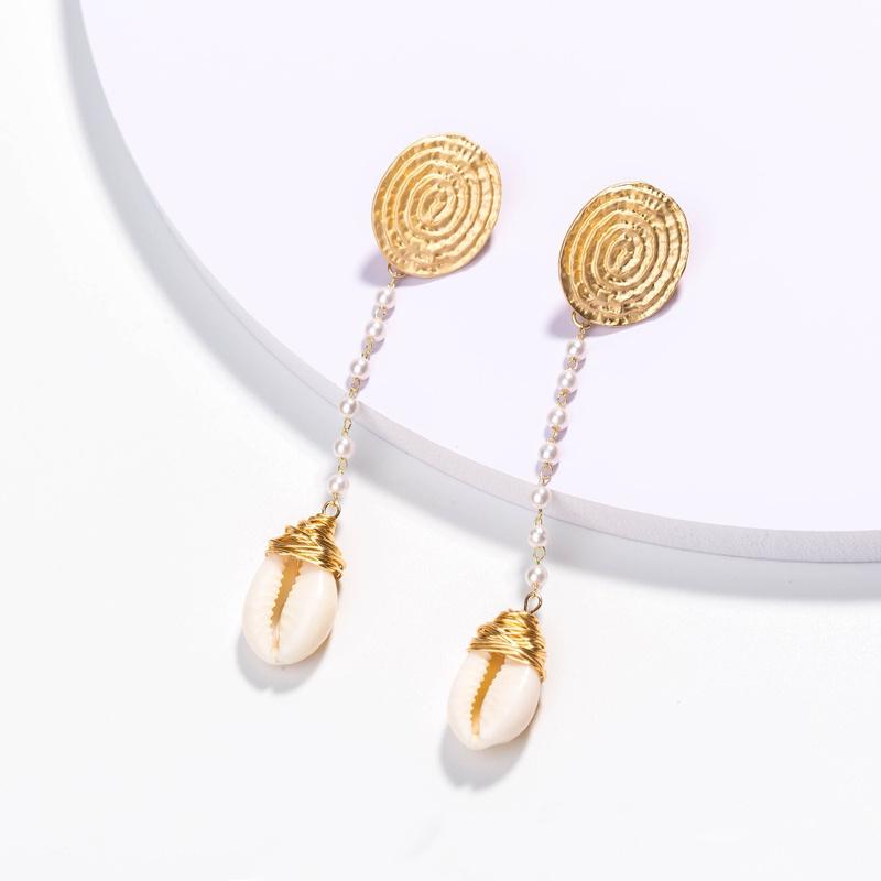 Shell Pendant Earrings  NHAN298346