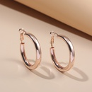 fashion exaggerated round earrings  NHLL298380