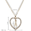 fashion diamond pendant necklace  NHPF298385