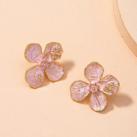 new flower retro earrings NHAI298406's discount tags