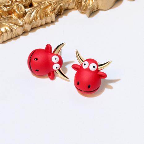 Zodiac Ox Geburtsjahr Ohrringe NHXI298464's discount tags