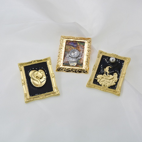 Photo Frame Brooch NHNT298504's discount tags