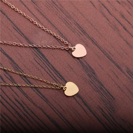 Herzanhänger-Halskette aus Titanstahl NHYL298541's discount tags