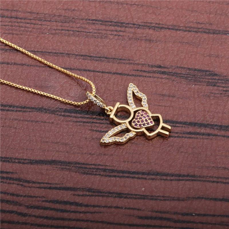 love angel necklace NHYL298560