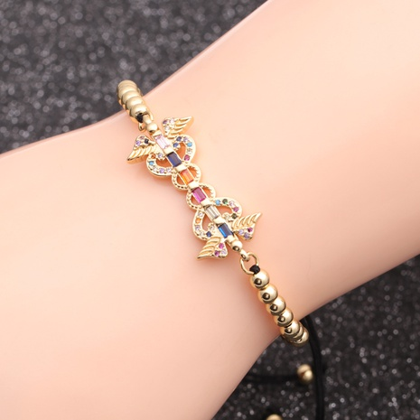 micro-inlaid zircon new chain bracelet NHYL298582's discount tags
