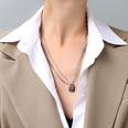 NHOK1351335-Steel-color-necklace-50+5cm