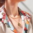NHOK1351325-Gold-three-tier-necklace