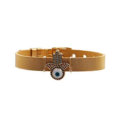 Strap 10mm Demon Eye Palm Adjustable Bracelet NHYL298687's discount tags