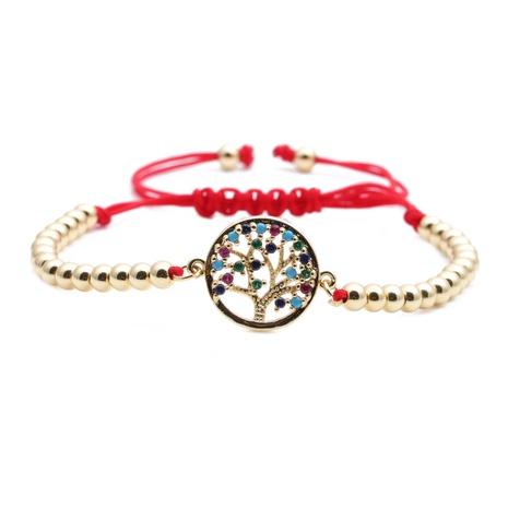micro-inlaid zircon tree bracelet NHYL298703's discount tags