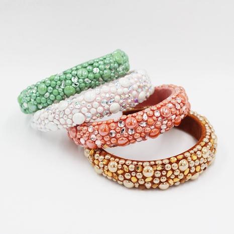 Diadema de perlas de gota de agua de esponja barroca de nueva moda NHWJ298716's discount tags