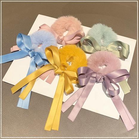 Cuerda de pelo de felpa color caramelo NHOF298731's discount tags